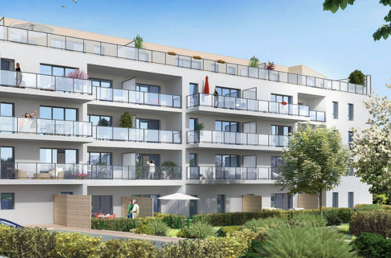 Immobilier neuf rennes visite 3d du programme green parc for Arch immobilier rennes